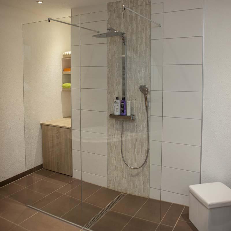 Badezimmer Fliesen Halbhoch: Badezimmer Deckenhoch Fliesen Oder Nicht. Top With
